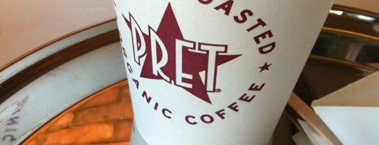 Pret A Manger is one of Drinks.