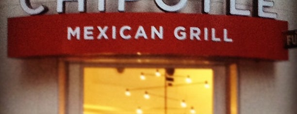 Chipotle Mexican Grill is one of FiDi Lunch.