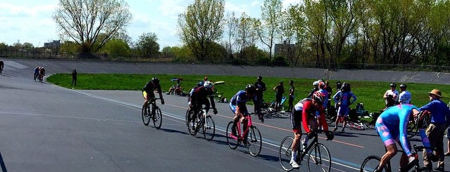 Kissena Park Velodrome is one of NYC My Gyms.
