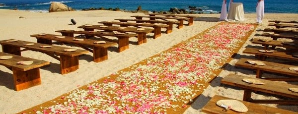 Hilton is one of 34 stunning locations to tie the knot in Cabo..