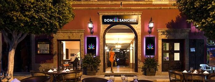 Don Sánchez is one of Los Mejores Restaurantes para Cenar en Grupo.