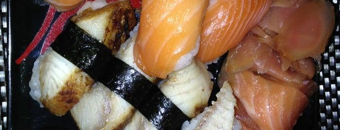 Saki Sushi is one of Isra'さんの保存済みスポット.