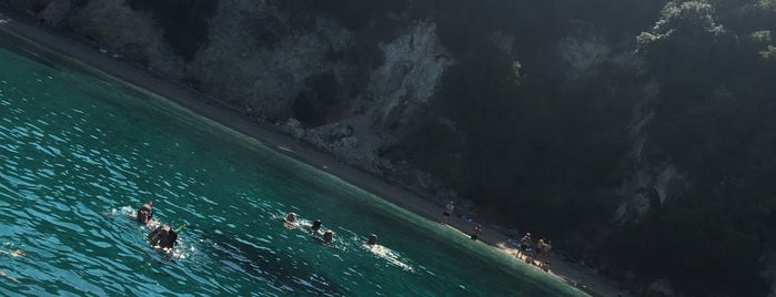 Blue Lagoon is one of Corfu, Greece.