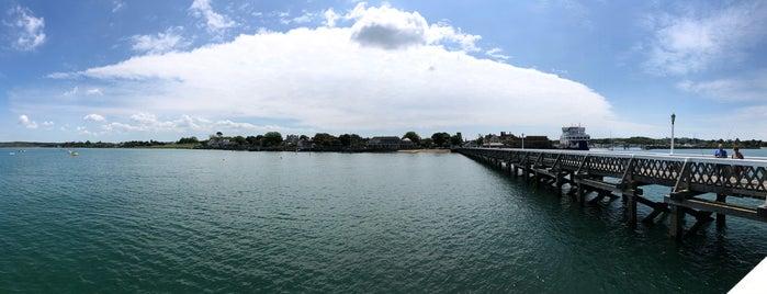 Yarmouth Pier is one of Lugares favoritos de Carl.
