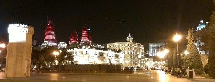 Azneft Meydanı | Azneft Square is one of Baku, AZ.