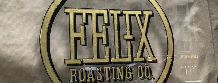 Felix Roasting Co. is one of NYC.
