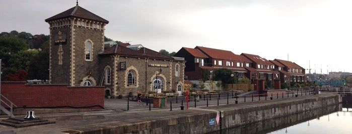 The Pump House is one of 101+ things to do in Bristol.