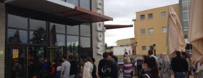 McDonald's is one of Lieux qui ont plu à Метр.
