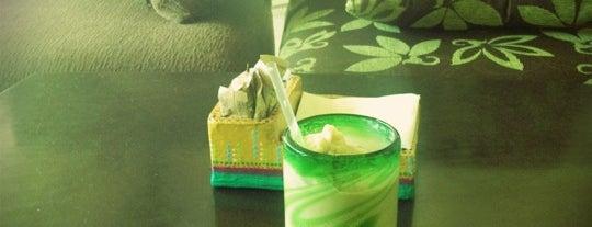 The Green Mug is one of สถานที่ที่บันทึกไว้ของ Ricardo.