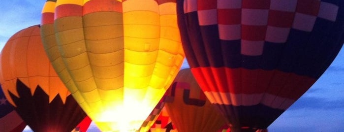 Balloon Fiesta Park is one of Lugares favoritos de Justin Eats.