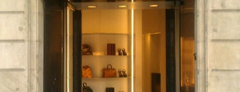 Yves Saint Laurent is one of Barcelona shopping.