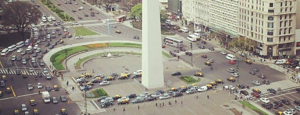 Obelisco - Plaza de la República is one of Lugares favoritos de Nahuel.