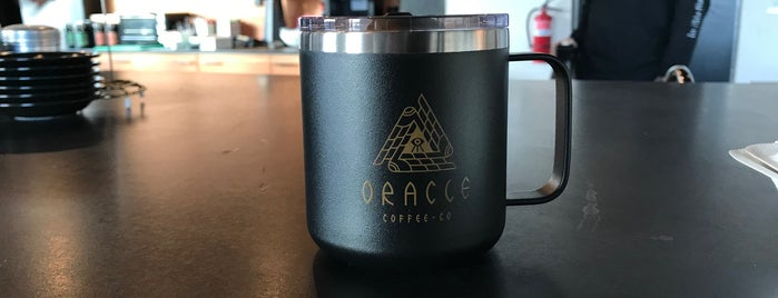 Oracle Coffee Company is one of Portland.