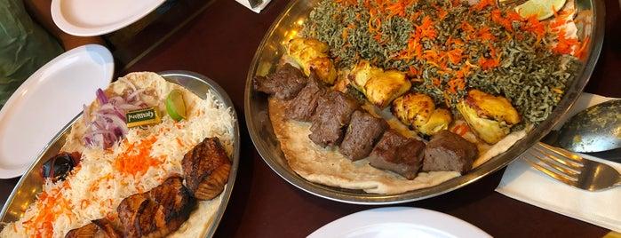 Kabobi - Persian and Mediterranean Grill is one of Samantha: сохраненные места.