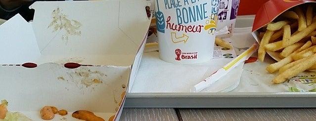 McDonald's is one of Lieux qui ont plu à Jonathan.