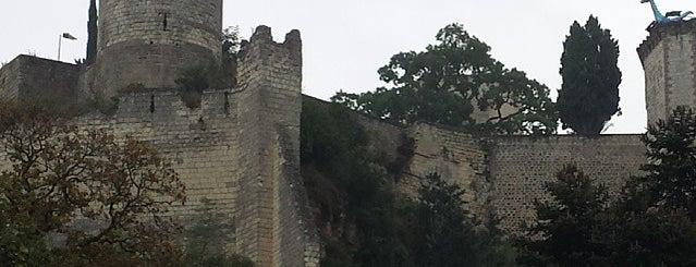 Château de Chinon is one of Bienvenue en France !.