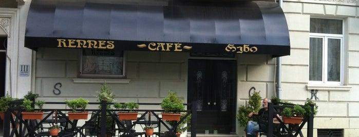 Rennes Cafe | რენი is one of Lieux qui ont plu à Baturalp.