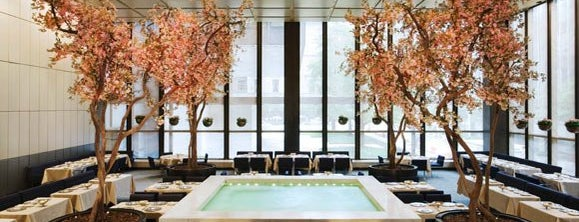 The Four Seasons Restaurant is one of A Perfect Day in New York.