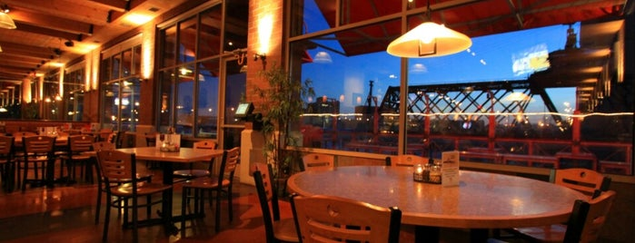 Riverfront Pizzeria is one of Lindseyさんの保存済みスポット.