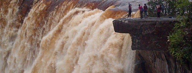 Kaieteur Falls is one of Seyyah Ayak İzi.