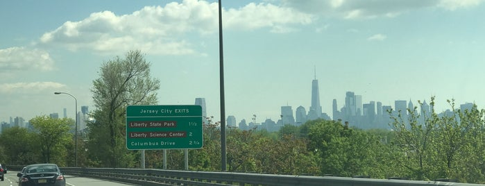 NJ Turnpike at Exit 14A is one of New Jersey highways and crossings.