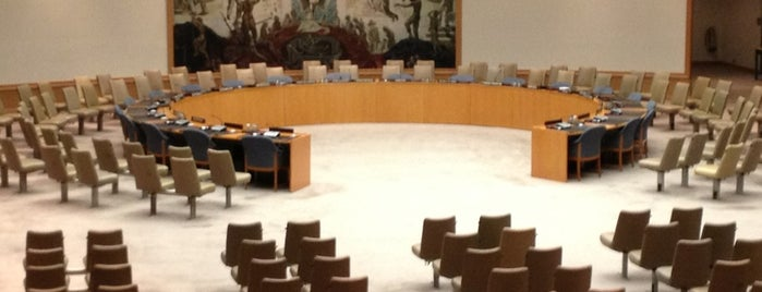 United Nations Security Council is one of Tempat yang Disukai Ahmad.