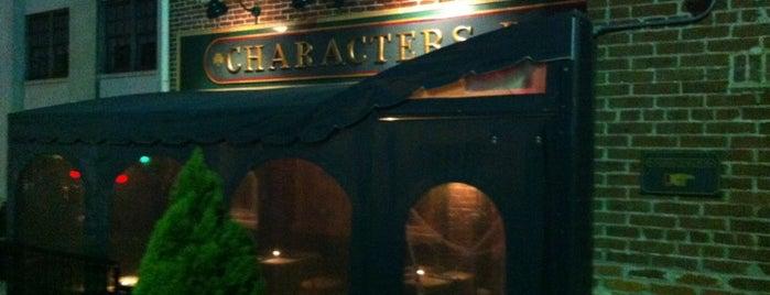 Character's Pub is one of Tempat yang Disimpan Chrissy.