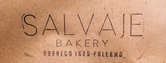 Salvaje Bakery is one of Almuerzo.