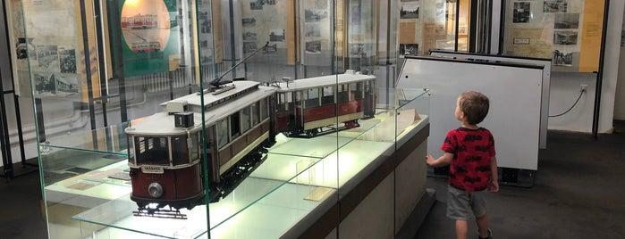 Muzeum městské hromadné dopravy is one of Prague To-Do.