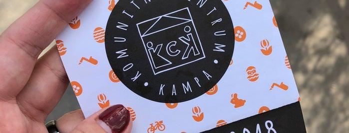 Komunitni Centrum Kampa is one of Prague for kids.