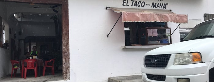 Taco Maya is one of Akumal.
