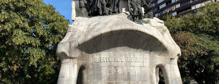 Bartomeu Monument is one of BARCELONA - Setembro 2021.