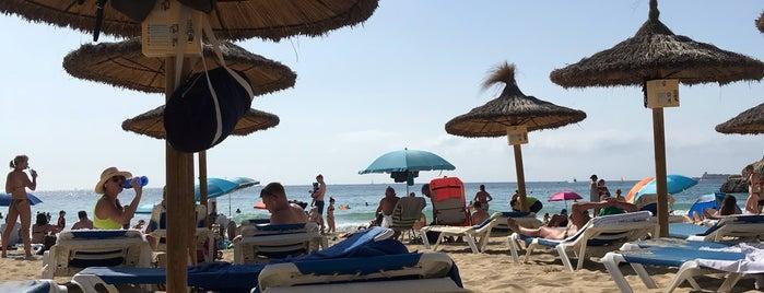 Cala Mayor Beach is one of Lugares favoritos de Alena.