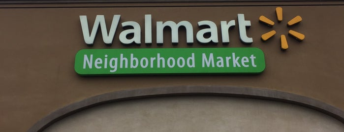 Walmart Neighborhood Market is one of Tempat yang Disukai Catrina.