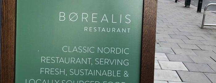 Børealis Restaurant is one of New London Openings 2018.