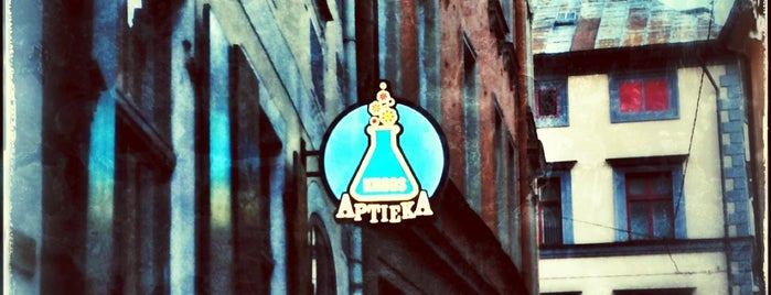 Aptieka is one of Riga Food and Drink.