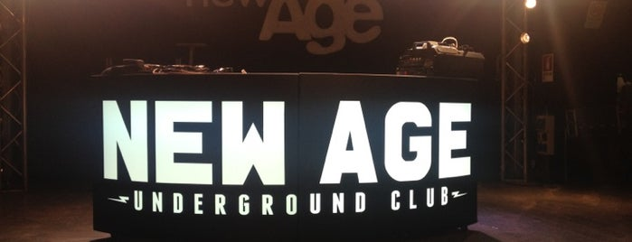 New Age Club is one of Alex'in Beğendiği Mekanlar.