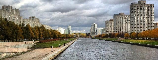 Мост Кораблестроителей is one of Lugares favoritos de Анастасия.