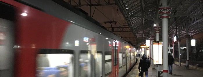 Станция МЦК «Стрешнево» is one of Lieux qui ont plu à Vlad.