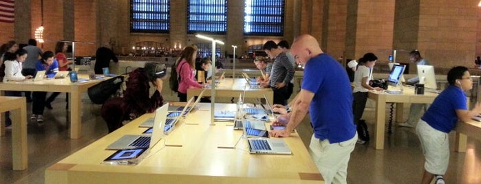 Apple Grand Central is one of New York.
