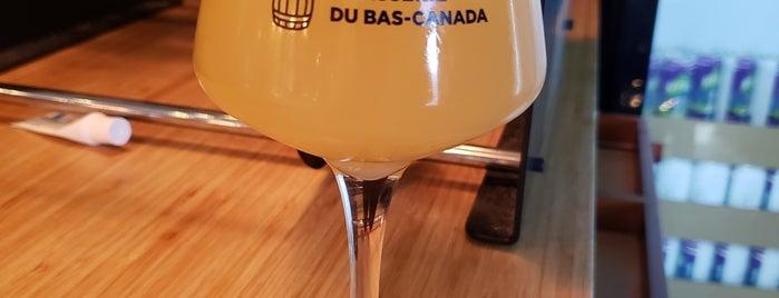Brasserie du Bas-Canada is one of Beer / Ratebeer's Top 100 Brewers [2020].