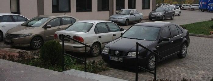 Kocaeli Üniversitesi Teknopark A.Ş. is one of Kocaeli Üniversitesi KOÜ Mekanları.
