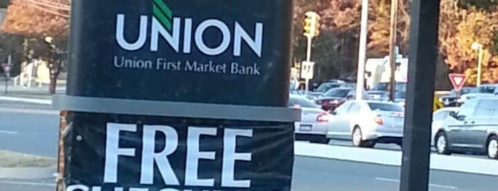 Union First Market Bank is one of Mighty 님이 좋아한 장소.