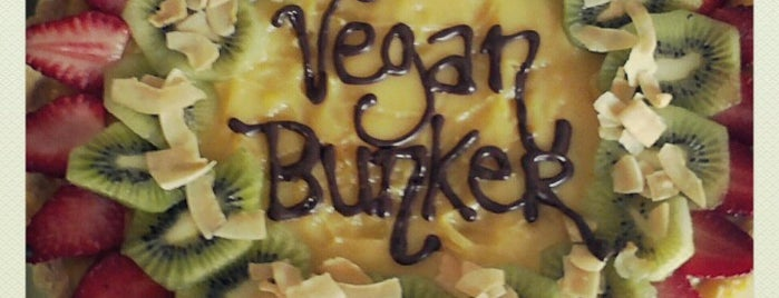 Vegan Bunker Cafe is one of Veggie Santiago (Santiago Vegetariano y Vegano).
