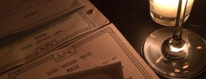June Wine Bar is one of Brooklyn.