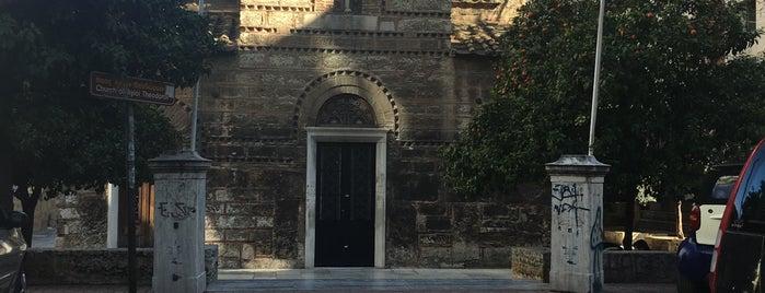 Πλατεία Αγίων Θεοδώρων is one of Tempat yang Disukai Spiridoula.