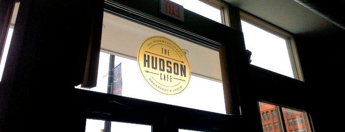 The Hudson Cafe is one of Lieux qui ont plu à Josh.