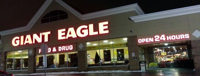 Giant Eagle Supermarket is one of Daniel : понравившиеся места.