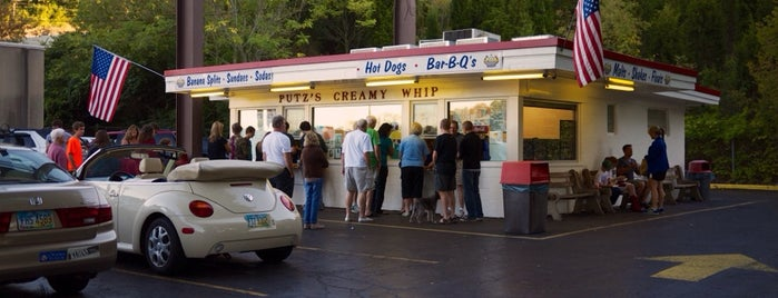 Putz's Creamy Whip is one of Cincy.