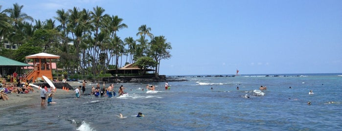 Kahalu'u Beach is one of Big Island.